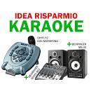 M Live OkyFly 2 IDEA RISPARMIO + microfono + mixer Behringer xenyx 802 + casse Behringer MS40