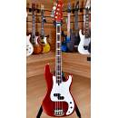 Lakland Skyline 44-64 Custom Rosewood Fingerboard Candy Apple Red