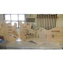 Factory Guitars: LAVORAZIONI BODY