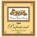 LA BELLA 10PH PROFESSIONAL HIGT TENSION MUTA CHITARRA CLASSICA