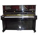 BACHMANN PIANOFORTE VERTICALE 123 NERO LUCIDO+PANCHETTA