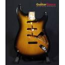 Body Fender American Vintage 57 USA 2 Tone Sunburst 1996 corpo stratocaster