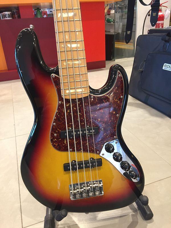 Fender Jazz Bass Custom Classic V Custom Shop