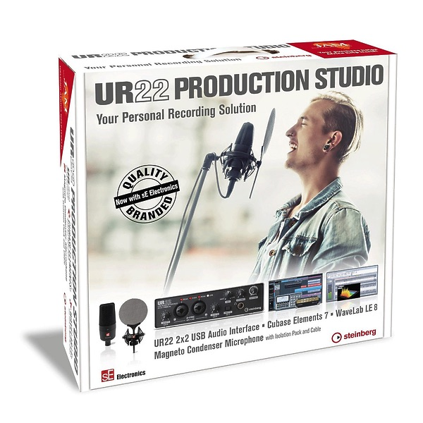 Steinberg Steinberg studio production bundle  ur22