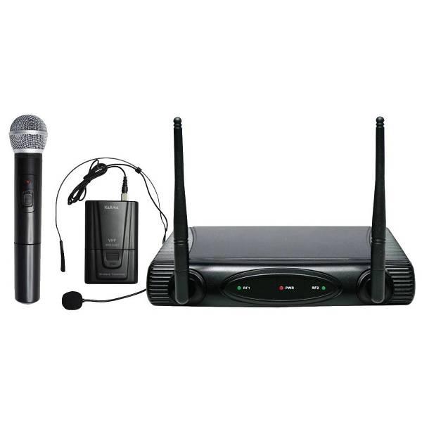 Radio microfono palmare VHF Karma Set 6082 PL-A