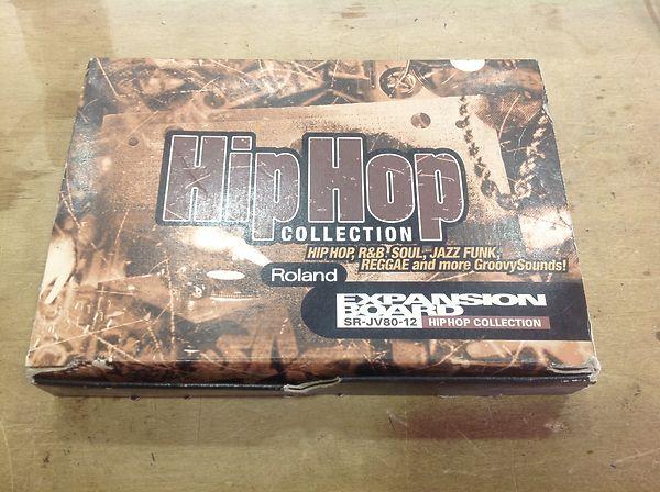 Roland SR-JV80-12 HIP HOP COLLECTION