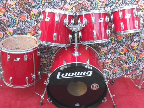 """Ludwig Rocker 1988; 22""""-10""""-12""""-13""""-16"""""""