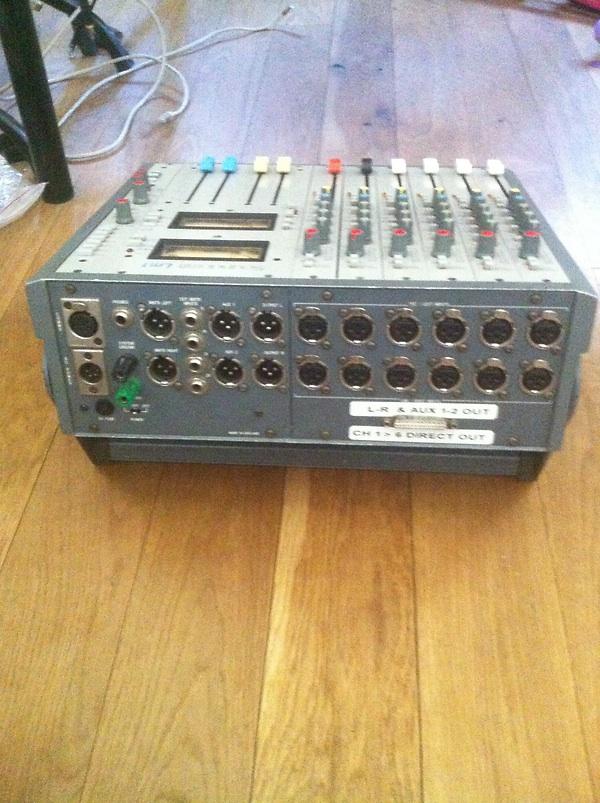 Soundcraft LM1 audio location mixer