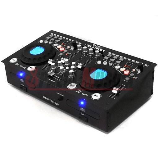 Console per DJ doppio lettore CD, CD MP3, USB e SD