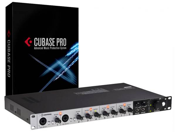 Steinberg Ultimate Cubase Recording Pack (ur824+cubase Pro 9) - Bundle Cubase Pro 9 + Interfaccia Au