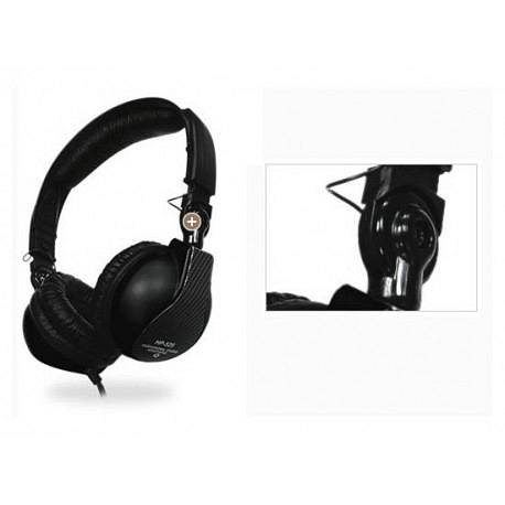 JTS HP 525 Cuffia DJ e Studio Black