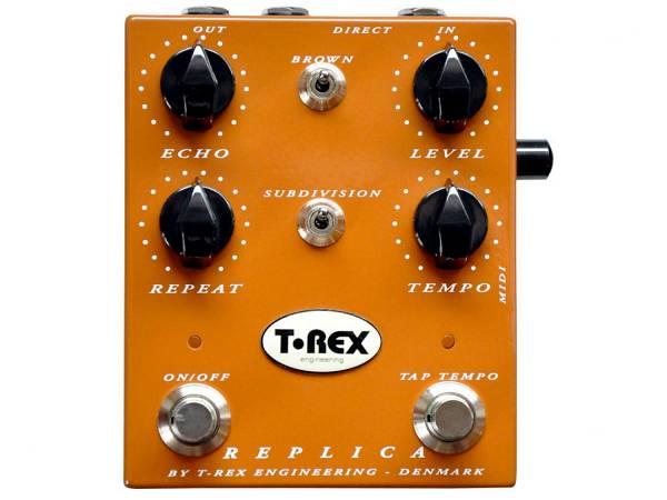 T-rex Replica - Effetto Delay A Pedale Con Tap Tempo