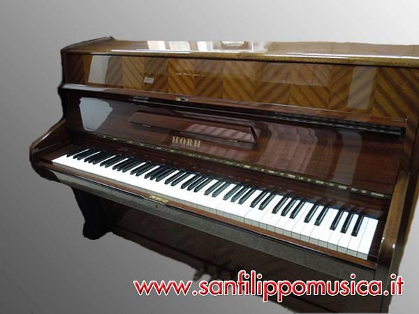 Pianoforte verticale horn