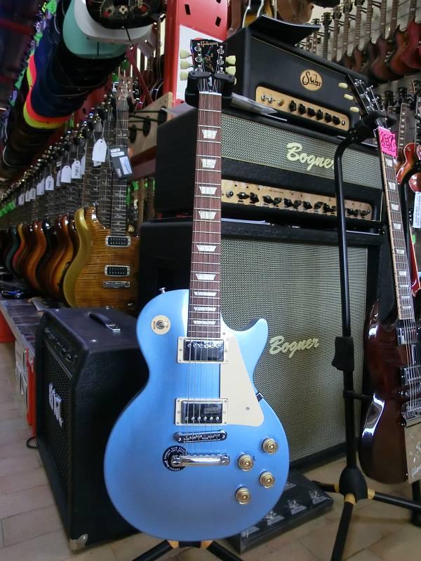 GIBSON LPSTUPBCH1 LES PAUL STUDIO NEW PELHAM BLUE 2012