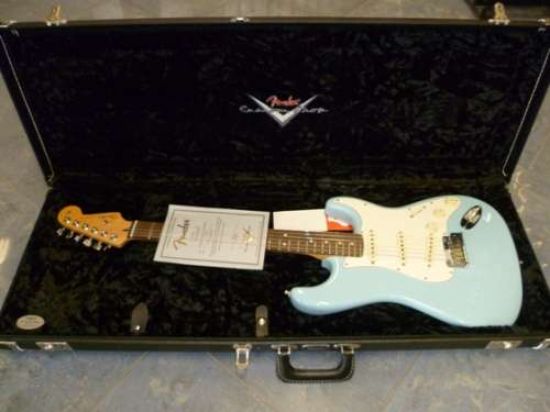 Fender Stratocaster Custom Shop Classic Daphne Blue DEALER FENDER CUSTOM