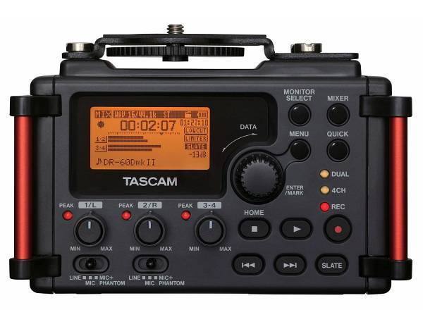 Tascam Dr60d Mkii - Registratore Pcm Lineare / Mixer Per Dslr