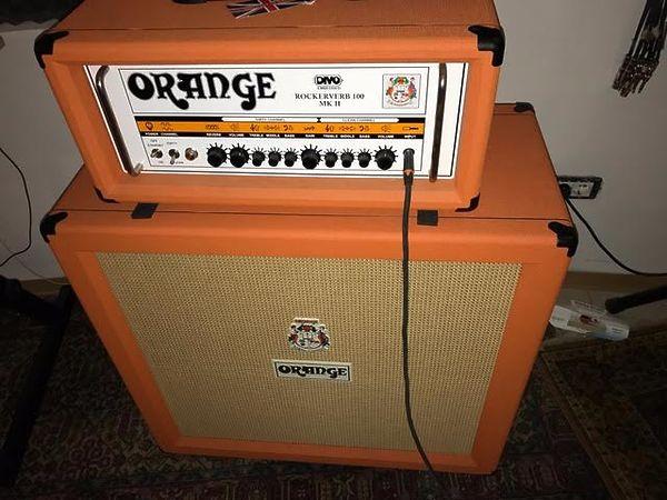 Orange ROCKERVERB 100 MK II (+ cassa orange PPC412)