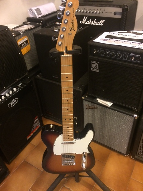 Fender Telecaster standard mexico sunburst - pari al nuovo