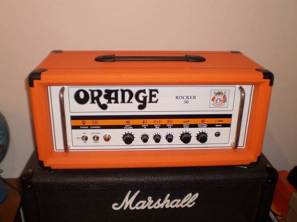 Testata Orange Rocker 30