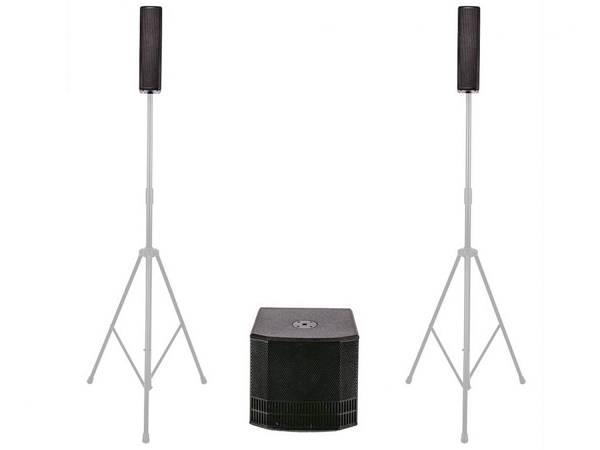 "Db Technologies Es503 - Sistema Audio Triamplificato Completo 8x3""/1x12"" 1000w"