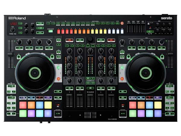 Roland Dj808 - Controller Per Dj Con Mixer 4 Canali E Drum Machine