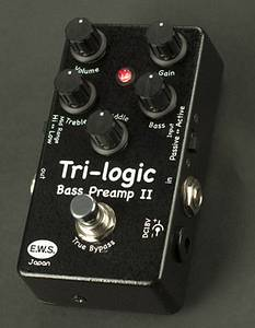ews Tri-Logic Bass Pre-amp II disponibile in 7gg