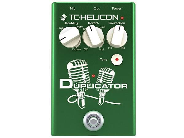 Tc Helicon Duplicator - Effetto Doubling, Reverb E Correction Per Voce