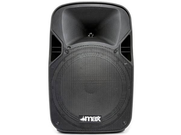"""Max P12bt Portable Sound System 12"""" - Sistema Di Amplificazione Portatile Bluetooth Con Trolley 700w"""