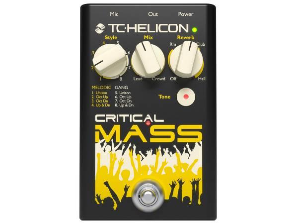 Tc Helicon Critical Mass - Effetto Sonoro Vocale Di Grandi Gruppi