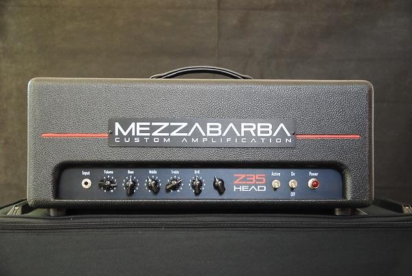 Masotti Guitar Devices Mezzabarba Z35 Head con Master Volume
