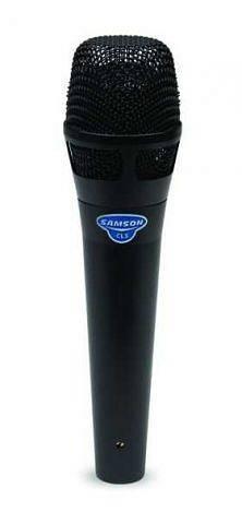 SAMSON - CL5 - Microfono a Condensatore - Palmare - Supercardoide - Nero spedizione inclusa