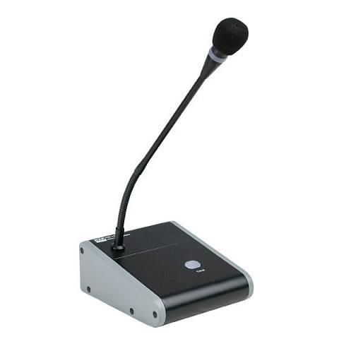 PM-160 Microfono condensatore da annunci con cicalino collo oca