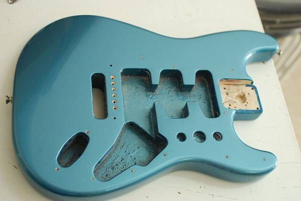 Fender Corpo Stratocaster Lake Placid Blue made in mex @