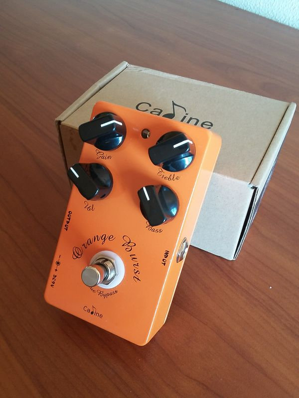 Caline orange burst