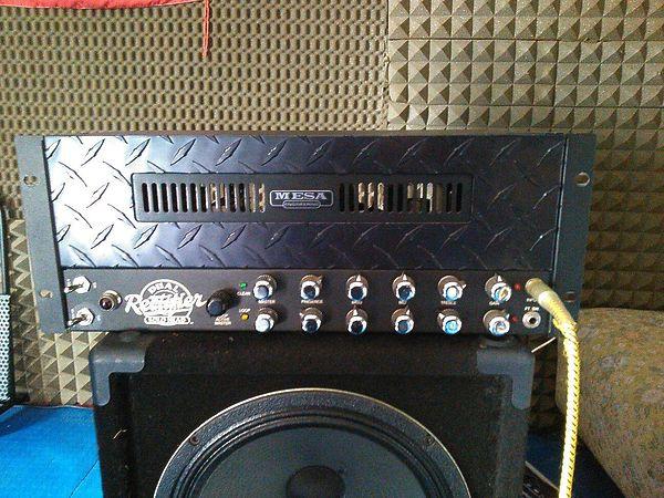 Mesa Boogie dual rectifier rackmount + case 6 unità