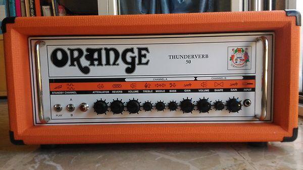 Orange Thunderverb 50 head TV50-H