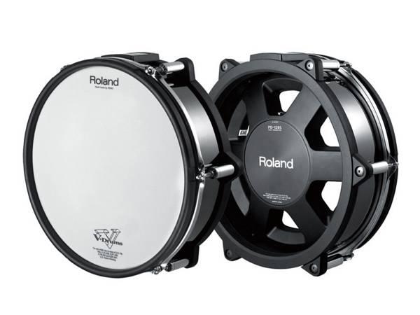 """Roland Pd128s Bc - V-pad Rullante 12"""" Nero Cromato"""