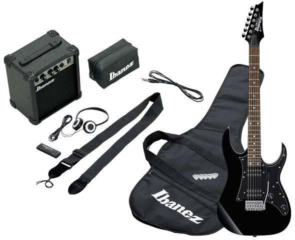 Ibanez - IJRG200-BK Jumpstart - Black - kit con amplificatore e cuffie spedizione inclusa