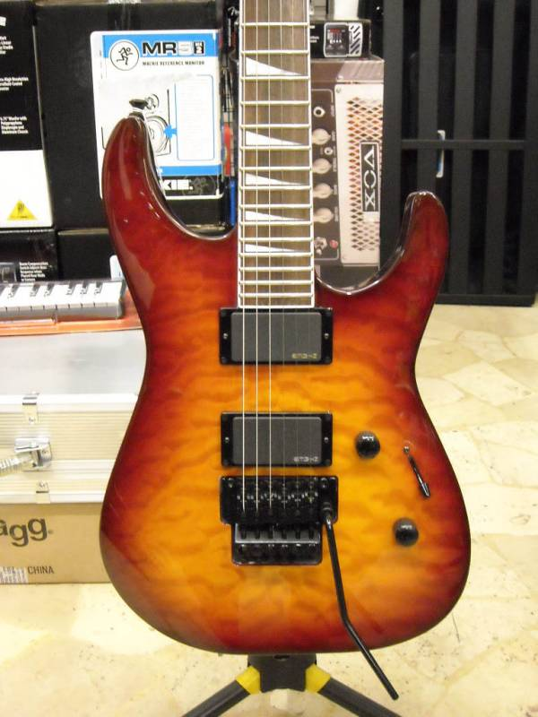 Jackson Soloist SLXQ X series neck through body