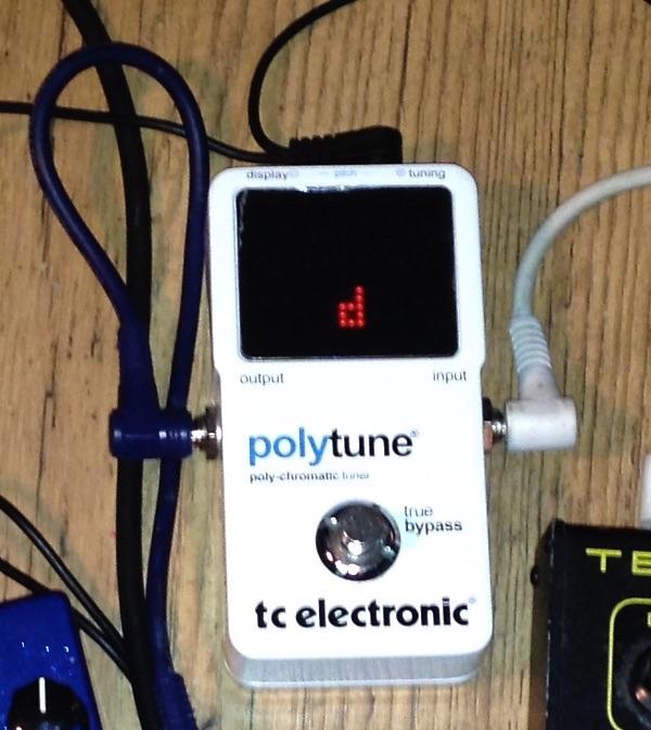 Vendo accordatore Polytune true bypass TC Electronic