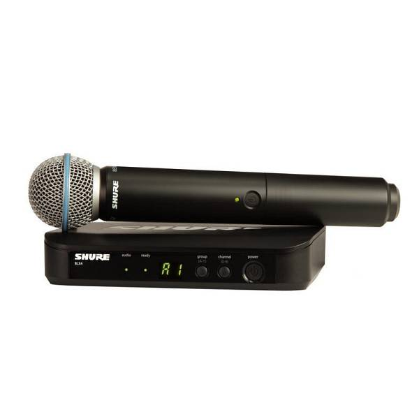 Microfono wireless Shure BLX24 BETA 58A SPEDITO GRATIS