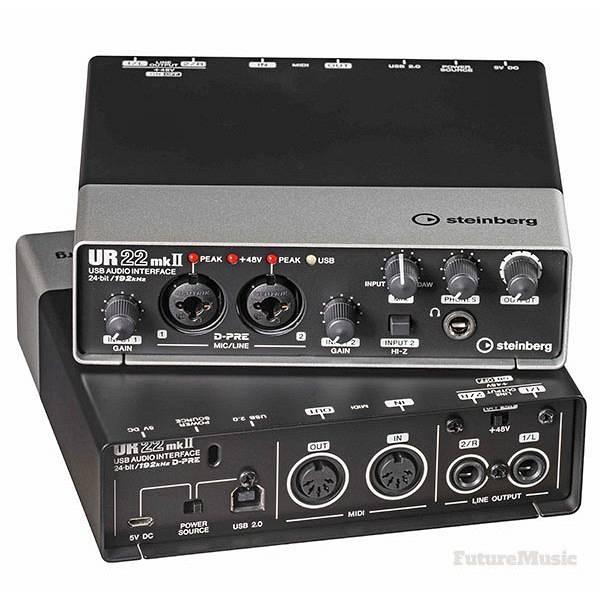 Steinberg UR22 MKII scheda audio usb