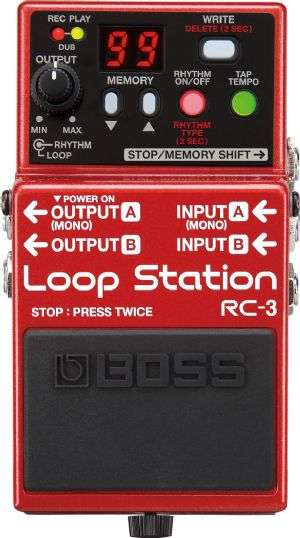 BOSS RC3 Loop Station PROMOZIONE