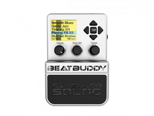 Singular Sound Beatbuddy - Batteria Elettronica A Pedale Con 10 Drum Kit, 21 Stili, 200 Brani