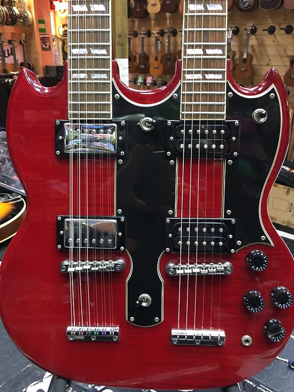 Epiphone G 1275 double neck