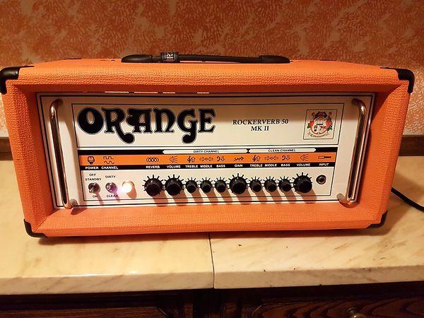 Orange Rockerverb mk2 mkii Testata 50w + extra