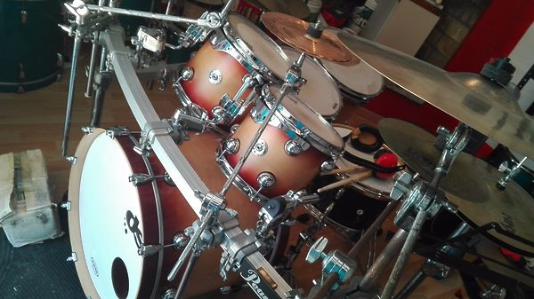 DS Drum Sound equalized 22-10-12-14-16