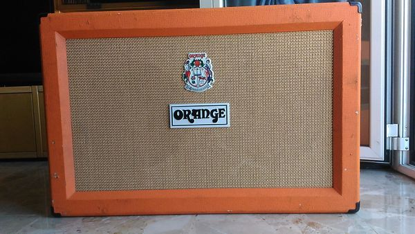 Orange PPC 212 2X12 Closed-Back guitar speaker cabinet