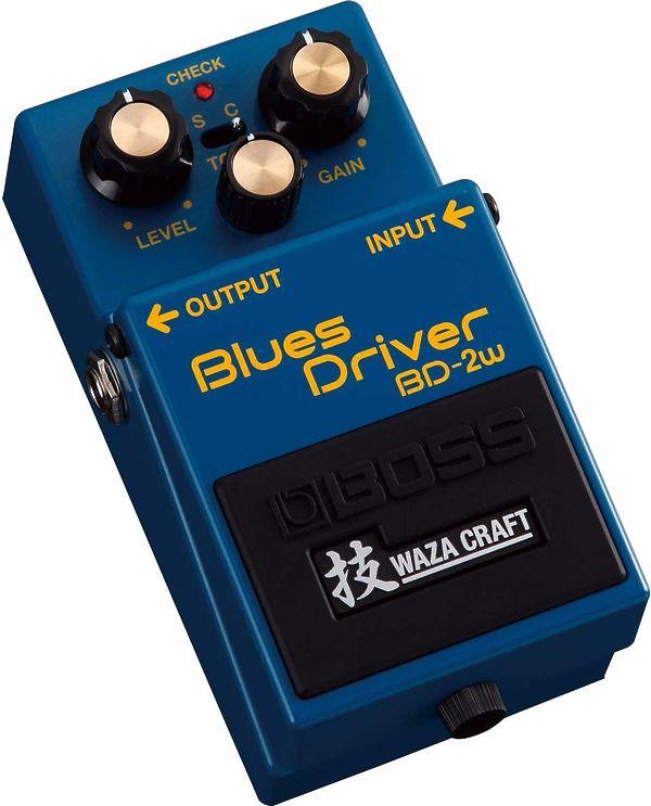 Boss Blues Driver Waza Craft (come nuovo)