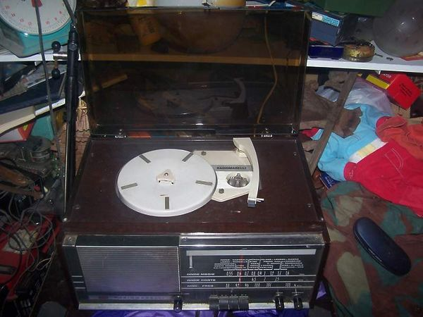 giradischi radiomarelli vintage